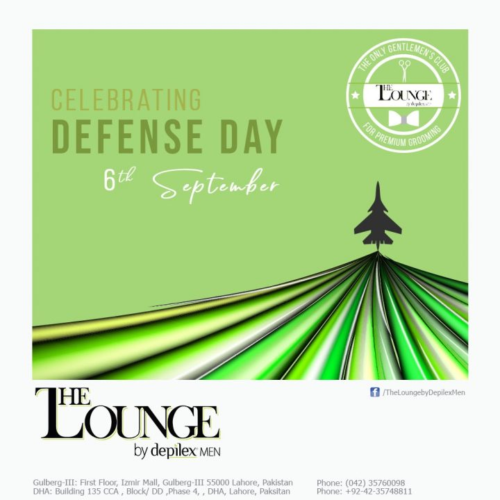 Celebrating Defence Day Promotion Depilex The Lounge Dha