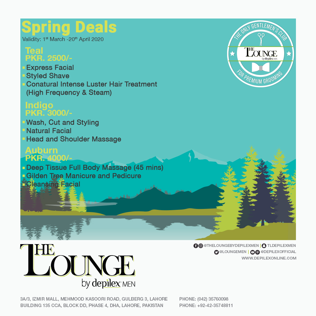 The Lounge Spring Deals 2020