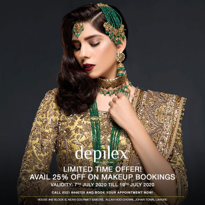 Depilex Johar Town, Lahore 25% OFF on Makeup Bookings