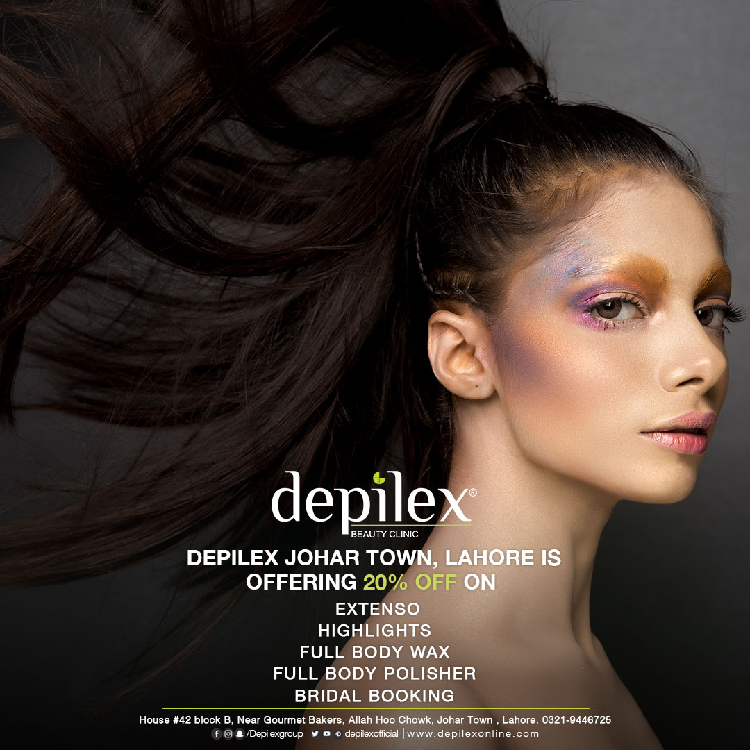 20% OFF at Depilex Johar Town, Lahore!