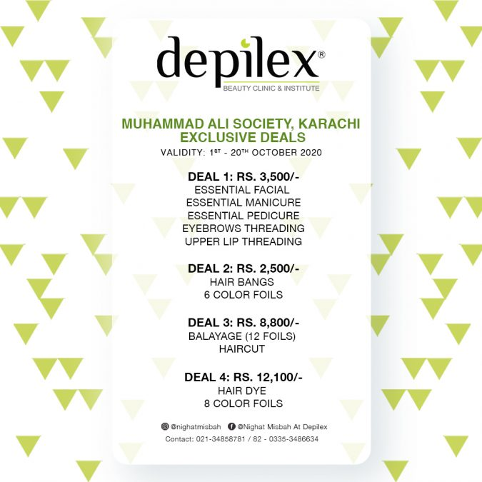 Exclusive Deals at Depilex Muhammad Ali Society