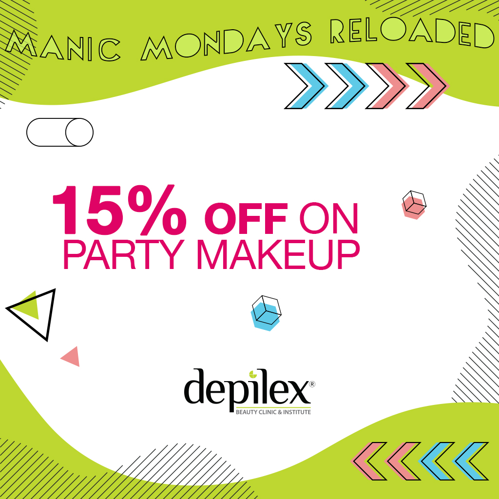Manic Monday brings 15% OFF on Party Makeup