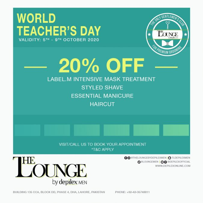 Teacher's Day at The Lounge